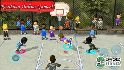 Скриншот Street Basketball Association №2