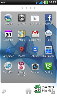 Скриншот Xperia S Home Launcher №3