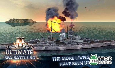 Скриншот Ultimate Sea Battle 3D №3