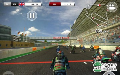 Скриншот SBK16 Official Mobile Game №3