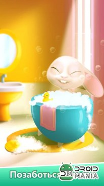 Скриншот Bu the Baby Bunny - Cute pet care game №3