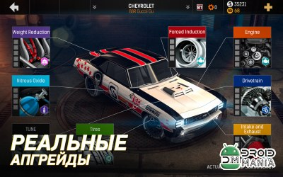 Скриншот Nitro Nation Drag Racing №3