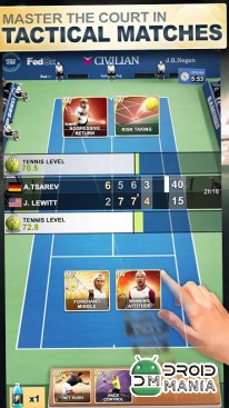 Скриншот TOP SEED Tennis: Sports Management Simulation Game №3