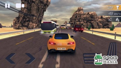 Скриншот Real Traffic Driver Online 2018 №3