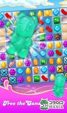 Скриншот Candy Crush Soda Saga №3
