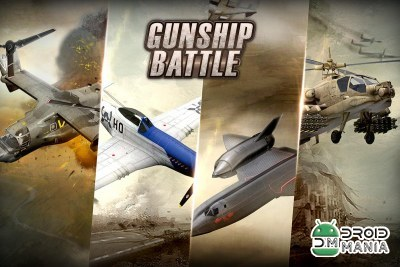 Скриншот GUNSHIP BATTLE: Helicopter 3D №4