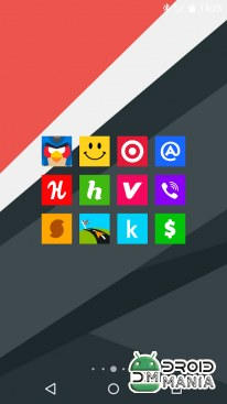 Скриншот Goolors Square - icon pack №4
