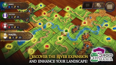 Скриншот Carcassonne: Official Board Game -Tiles & Tactics №4