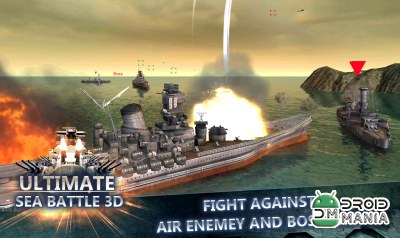 Скриншот Ultimate Sea Battle 3D №4