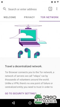 Скриншот Tor Browser for Android №4