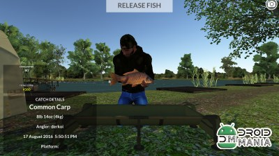 Скриншот Carp Fishing Simulator №4