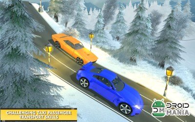Скриншот Modern Taxi Offroad Driver: Hill Station №2