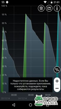 Скриншот Battery HD Pro №2