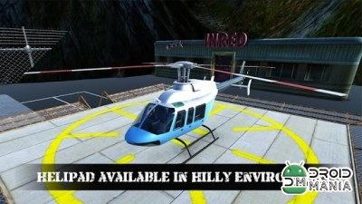 Скриншот Helicopter Rescue Simulator 3D №1