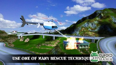 Скриншот Helicopter Rescue Simulator 3D №2