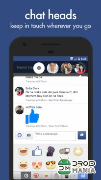 Скриншот Swipe for Facebook Pro №3