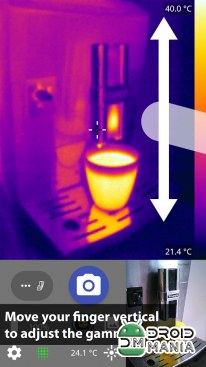 Скриншот Thermal Camera+ for FLIR One №1