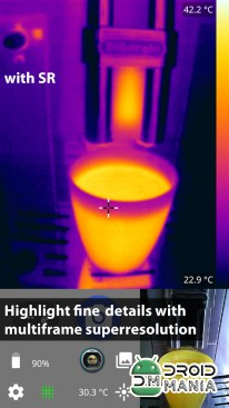 Скриншот Thermal Camera+ for FLIR One №2