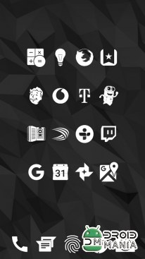 Скриншот Whicons - White Icon Pack №3
