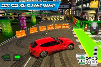 Скриншот Action Driver: Drift City №1