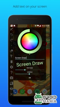 Скриншот Screen Draw Screenshot Pro №4