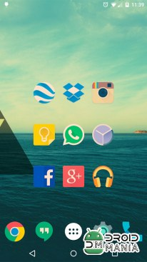 Скриншот Iride UI is Hipster Icon Pack №2