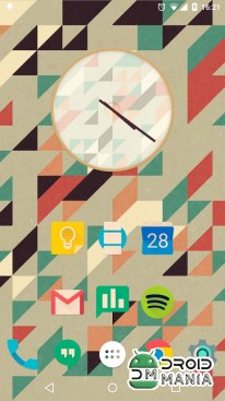 Скриншот Iride UI is Hipster Icon Pack №3