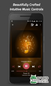 Скриншот Pi Music Player №3