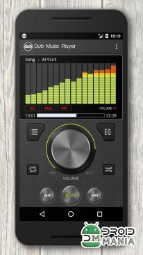 Скриншот Dub Music Player + Equalizer №1
