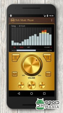 Скриншот Dub Music Player + Equalizer №3