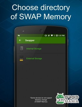 Скриншот Swapper - Create SWAP Memory №3