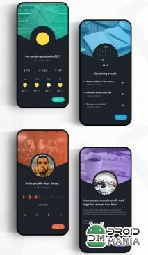 Скриншот AestheticHome for KLWP №4