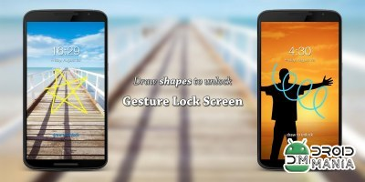 Скриншот Gesture Lock Screen PRO №2