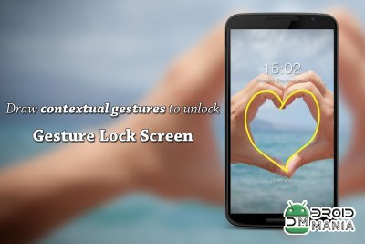 Скриншот Gesture Lock Screen PRO №4