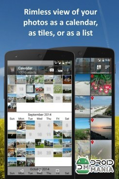 Скриншот PhotoMap PRO Gallery - Photos, Videos and Trips №4