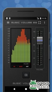 Скриншот Music Volume EQ-Sound Bass Booster & Equalizer №1