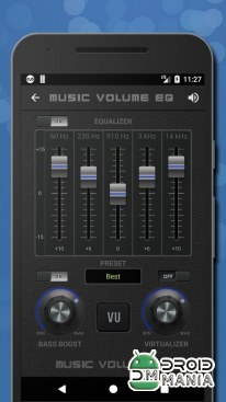 Скриншот Music Volume EQ-Sound Bass Booster & Equalizer №2