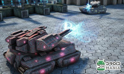 Скриншот Tank Future Force 2050 №4