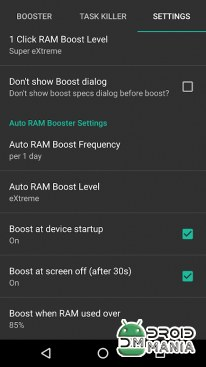 Скриншот RAM Booster eXtreme Speed Pro №3