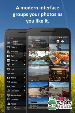 Скриншот PhotoMap PRO Gallery - Photos, Videos and Trips №1