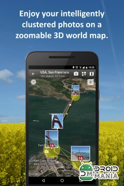 Скриншот PhotoMap PRO Gallery - Photos, Videos and Trips №3
