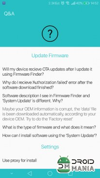 Скриншот Firmware Finder for Huawei №4
