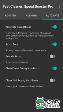 Скриншот Fast Clean: Speed Booster Pro №3