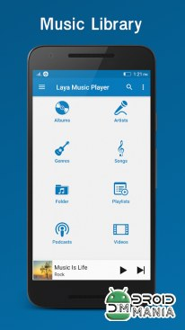 Скриншот Laya Music Player №3