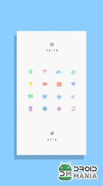 Скриншот Kecil - Icon Pack for Android №1