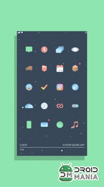 Скриншот Kecil - Icon Pack for Android №3