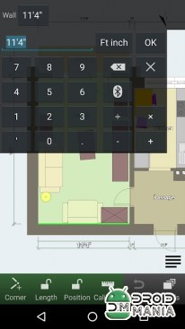 Скриншот Floor Plan Creator №4