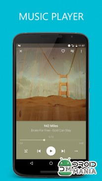 Скриншот Pixel+ - Music Player №1