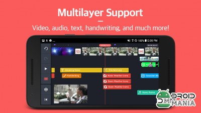 Скриншот KineMaster – Pro Video Editor №2