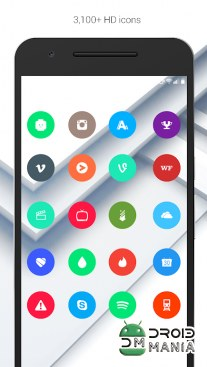 Скриншот Material Things - Colorful Icon Pack (Pro Version) №2